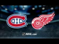 2 billets blancs Canadiens vs Red Wings 10 Octobre COST