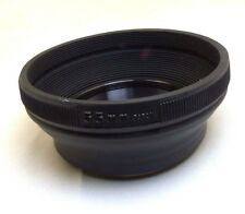 55mm Lens Hood collapsible Rubber for telephoto lenses