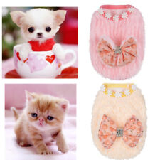 Teacup Dog Clothes Pet Puppy Hoodie Sweater for Cat chihuahua yorkie XXXS/XXS/XS