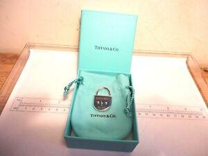 Tiffany & Co Silver 925  PADLOCK PENDANT/ CHARM