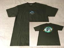 Travel Nai'a, Nu'ao Hawaii Dolphin Living In Harmony Shirt T-Shirt Sz L Large