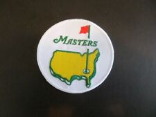 """""""THE MASTERS GOLF HISTORY"""" EMBROIDERED IRON ON 3 X 3- PATCH"""