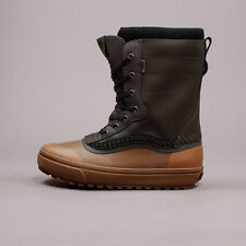 Vans Standard Snow Boot MTE Green Brown New Men Winter Sockliner VN0A3TFM20A