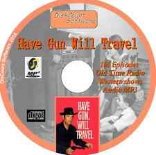 Have Gun Will Travel OTR - 110 Old Time Radio Shows - Western  Audio MP3 CD