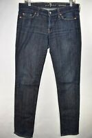 Seven 7 For All Mankind Roxanne Stretch Womens Tag Size 30 Jeans Meas. 32x33