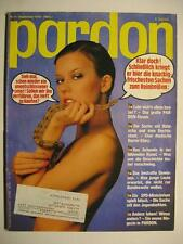 PARDON 1978 NR. 9 SEPTEMBER - PARODIE - SATIRE