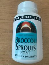 Broccoli Sprouts with Sulforaphane - 60 Tabs - Source Naturals