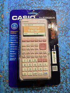 Casio fx-9750GIII Pink Graphing Calculator