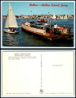 CALIFORNIA Postcard - Balboa Island Ferry A1