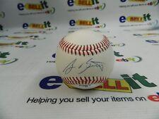 A J Burnett - Autographed baseball With COA