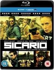 Sicario (with Digital HD UltraViolet Copy) [Blu-ray]