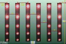 135W Led Pflanzen Lampe Grow Plant Ligh Geräuschfrei Wuchs Hydrokultur Growlight