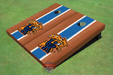 University Of Kentucky Wildcat Blue Rosewood Matching Long Stripe Custom Cornhol
