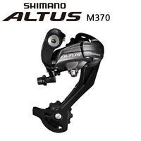 Shimano Acera RD-M370 Altus 9-Speed SGS Rear Derailleur Black