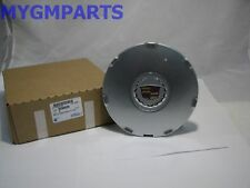 "CADILLAC CTS SILVER CENTER HUB CAP WITH EMBLEM 17"" WHEEL 2008-2009 NEW 9596626"