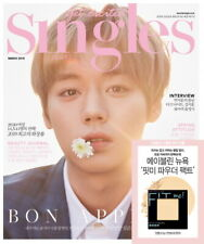 Singles Cover Park Jihoon Wanna One 2019 March Korean Magazine K-pop Fashion