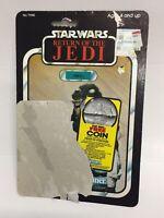 NIKTO 77 BACK Kenner VINTAGE CARDBACK STAR WARS Action Figure card toy Jabba