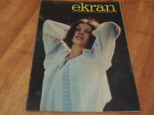 Ekran 25/1976 polish magazine Renate Blume, Albert Finney, Veronica Meryn