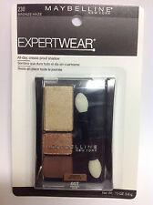 Maybelline Expert Wear Eye Shadow,Modern Metallics, Bronze Haze #230 New.