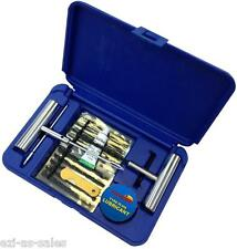 HUGE 29PC PROFESSIONAL TYRE REPAIR KIT IN CASE - TYRE CAR 4WD 4X4 PUNCTURE PLUG