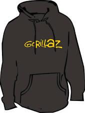 Gorillaz Hoodie (Indie)