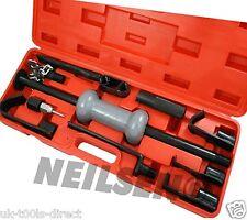 13pc Dent Puller Set Kit 10lb Slide Hammer Car Auto Repair Tool Sliding