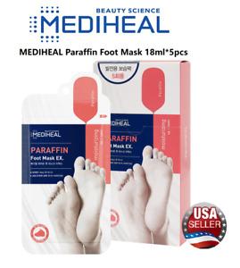 MEDIHEAL Paraffin Foot Mask 18ml*5pcs