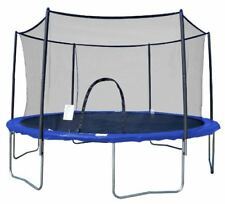 AirZone Outdoor Spring Trampoline with Mesh Padded Perimeter Safety Enclosure 15
