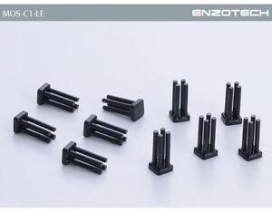 ENZO TECH  Forged Copper Heat Dissipation MOSFET Heatsink (10pcs) - MOS-C1-LE