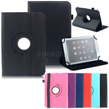 "For Samsung Galaxy 7"" - 10.1"" Tablet Case 360 Rotating Leather Stand Folio Cover"