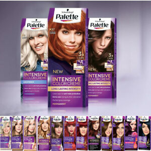 Palette Intensive Color Creme Permanent Hair Dye by Schwarzkopf for Long Lasting