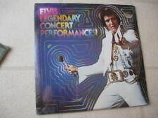"ELVIS PRESLEY 1978 ""Legendary Concert Performances"" NEW/SEALED ORGNL US 2-LP SET"