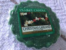 Yankee Candle Scented Tarts Wax Melt- Christmas Garland