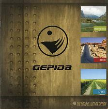 Prospekt Gepida Fahrräder 2009 Mountain Bikes Road Cross Fahrradprospekt Rennrad