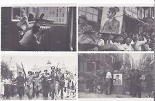 Guerre 39-45 Libération de Paris Place Opéra 12 cartes photos anti Hitler