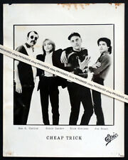 Original Vintage Cheap Trick Epic Records Press Publicity Photo with Jon Brant