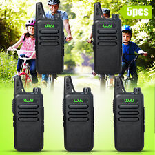 5Pcs Newest Mini-handheld walkie talkie Wln Uhf400-470 Mhz 2-way Amature Radio