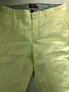 Pantaloni Uomo Mason's Colore Giallo Taglia 50
