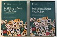The Great Courses Building A  Better Vocabulary DVDs & Guidebook