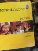 Rosetta Stone German Level 1 {DEUTSCH}---------NEW !