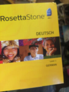 Rosetta Stone German Level 1 {DEUTSCH}---------NEW !