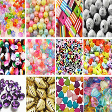 Acrylic Multi Bicone Jewellery Making Beads