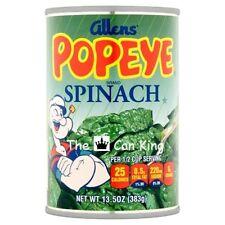 POPEYE SPINACH Diversion Can Safe Stash Box Metal Piggy Bank #1