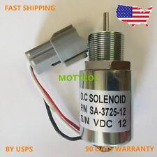 30A87-20402 30A87-00400 SA-3725 Shut Off Solenoid FOR K4N-D61KG MAHINDRA Max28