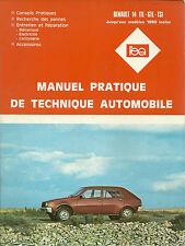 REVUE TECHNIQUE - EXPERT AUTOMOBILE  -  RENAULT 14