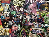 Random Comic Surprise Bundle Of 10 Books Marvel, DC, Image, Dark Horse Etc