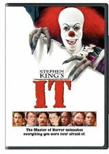 Stephen King's: IT (DVD, 1990, Widescreen) Factory Sealed [New]