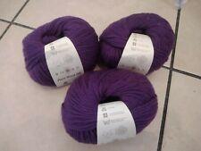 150g ROWAN PURE WOOL DK YARN - 030 DAMSON rich eggplant purple - 4mm