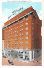 LOUISVILLE KY 1915 Long Gone Hotel Henry Watterson (1912 - 1981) VINTAGE GEM 535