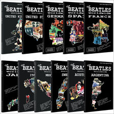 11 Books - Lot THE BEATLES worldwide: US, UK, Germany, Japan, Spain, France...
